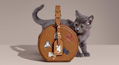 Louis Vuitton : une capsule féline signée Grace Coddington
