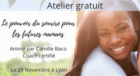 Atelier gratuit : le pouvoir du sourire pour les futures mamans