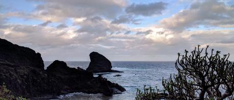 Coucher de soleil sur le Roque Bermejo