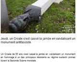 Encore facho souviendra Rade Končar… #antifa