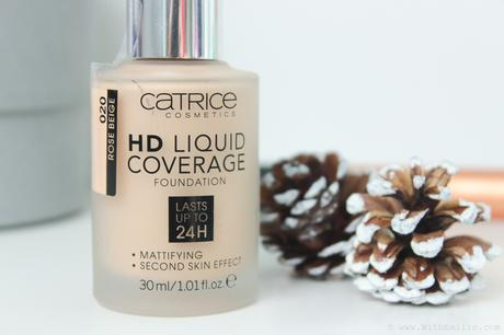 Mon avis sur le fond de teint HD Liquid Coverage de Catrice Cosmetics