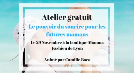 Le pouvoir du sourire : un atelier découverte pour futures mamans à Lyon