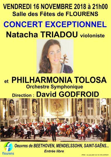 Concert exceptionnel Natacha TRIADOU et PHILHARMONIA TOLOSA