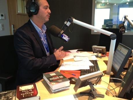 Interview à Radio France Bleu Gironde