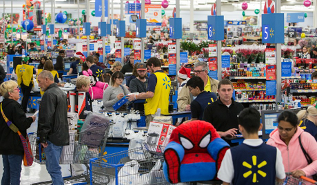 Black Friday à Walmart