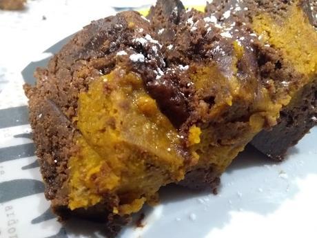 Brownie épicé au potimarron