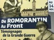 Novembre 2018 Romorantin Front Témoignages Grande Guerre
