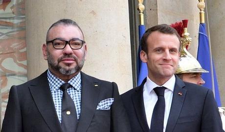 Le Roi du Maroc à Paris pour le centenaire de l'armistice de la 1ère guerre mondiale