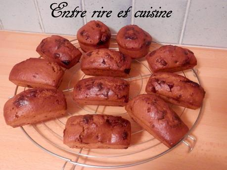 Muffins-cakes américains