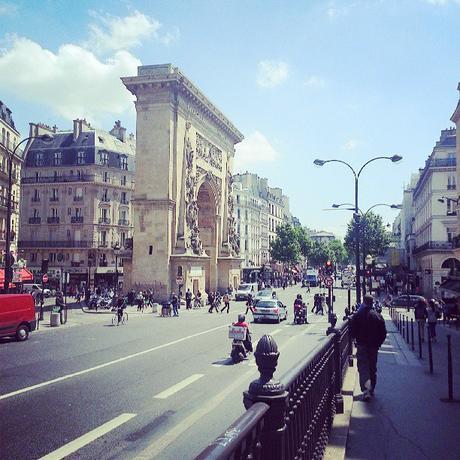 La Porte Saint-Denis, un autre arc de triomphe parisien