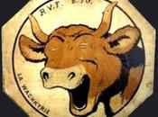 Souvenir grande guerre Walkyrie Vache passant Wachkyrie