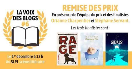LA VOIX DES BLOGS : Prix de littérature jeunesse remis par des blogueurs