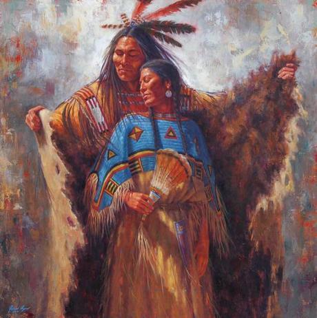 La légende sioux sur les relations de couple