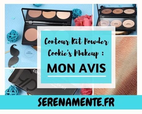 J'ai testé le Contour Powder Kit de Cookie's Make up !