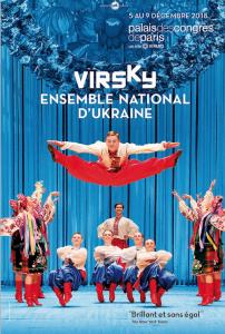VIRSKY  5 -9 DÉCEMBRE 2018 : DE SUPERBES DANSES UKRAINIENNES AU PALAIS DES CONGRES