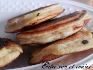 Pancakes à la pomme...comme des beignets !