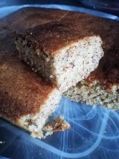 Gâteau céto à la noisette