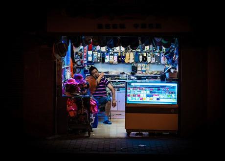 [PHOTOGRAPHIE] : Nightshift, Un voyage dans les échoppes de nuit de Shanghai