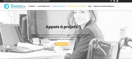 Leshandipreneurs.org, du mécénat participatif pour les entrepreneurs handicapés