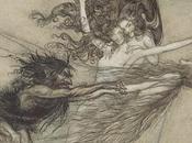Arthur Rackham illustrateur l'Anneau Niebelungen