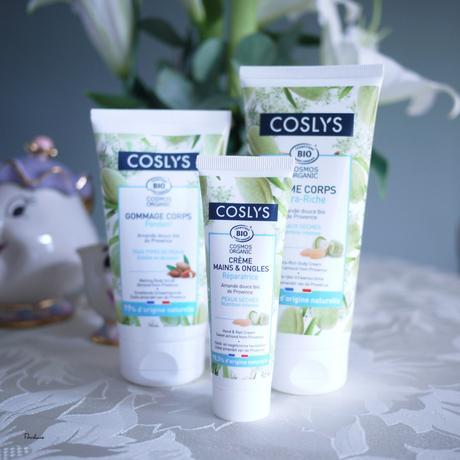 Coslys : Gamme corps à l'amande, soin naturel, bio et made in france !