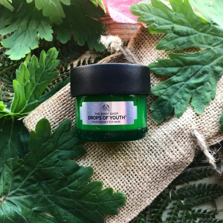 Le Masque Yeux Jeunesse Effet Rebond de The Body Shop