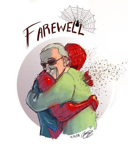 Les plus beaux hommages à Stan Lee