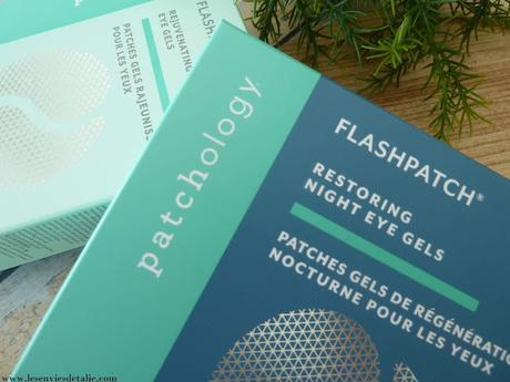 Flashpatch hydrogel yeux Patchology - bluffant  !