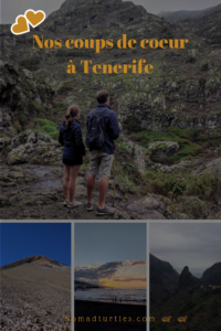 Les 4 coups de coeur de notre séjour à Tenerife