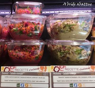 Salade exquise et la nouvelle carte de saison d'Exki