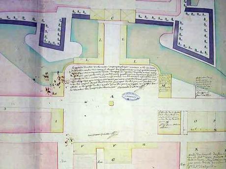 Plan Place Stanislas