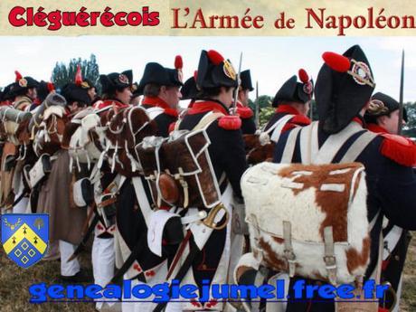 [ Cléguérec 56 ] Les enrôlés dans les armées de Napoléon noms de LE HÉNANF à LELAN
