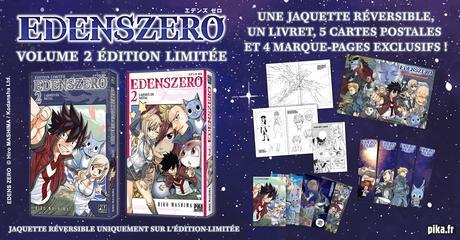 Une édition limitée pour le second tome français du manga Edens Zero d'Hiro MASHIMA