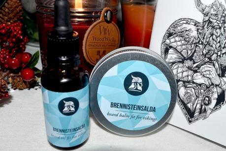 Huile à barbe Fit for Vikings Brennisteinsalda, une exclusivité coindubarbier.com