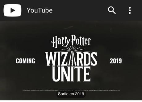 Harry Potter Wizard Unite.