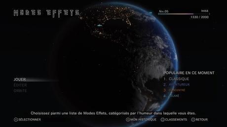 Test de Tetris effect sur PS4