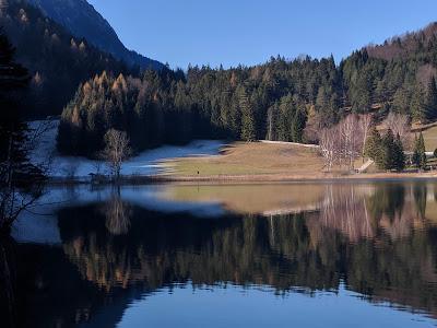Lumières d'hiver sur le Lautersee