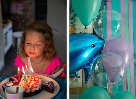 Un anniversaire sous l'océan