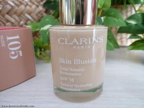 Mention très bien pour le Fond de teint Skin Illusion Clarins