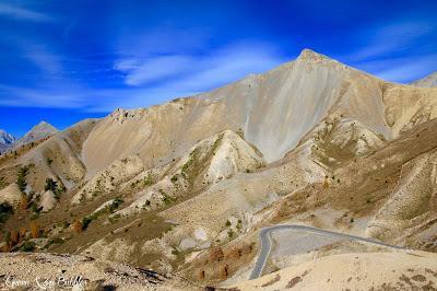 L'or des mélèzes et le Col de l'Izoard