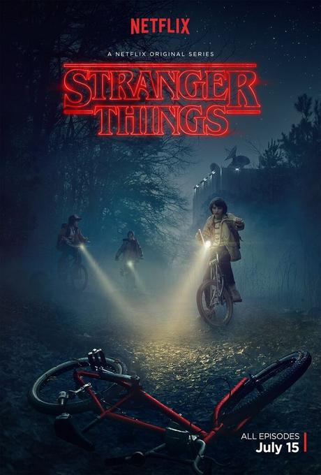 La cinquième meilleure série de Netflix intitulée : Stranger Things !