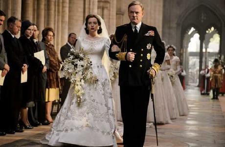 La meilleure série de Netflix intitulée The Crown !