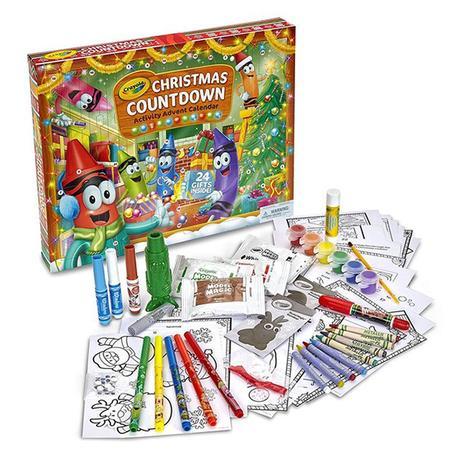 Crayola calendrier de l'avent