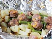 Recette pommes terre avec saucisses fumées
