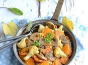 Poêlée champignons petits légumes cidre {...et conseils avisés comment choisir, laver, cuisiner}