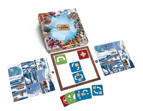 Globe Twister, un ouragan sur votre puzzle mais également pour votre cerveau chez Act In Games