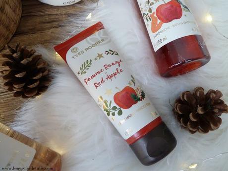 Pomme rouge et Thé doré, la Collection de Noël 2018 Yves Rocher