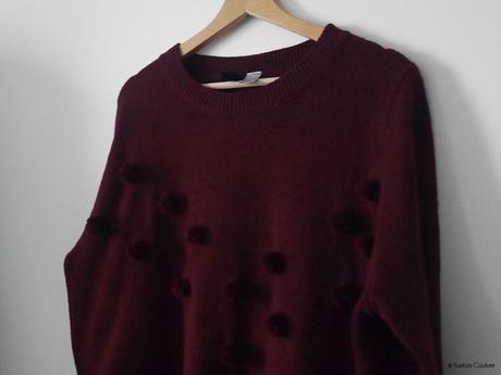 Customiser un pull basique avec des pompons   Kustom Couture