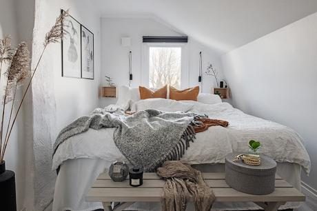 Suède / Une chambre cocon de 8m2  /