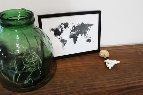 desenio blog lifestyle decoration carte map voyage